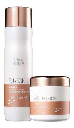 Wella Professionals Kit Fusion Shampoo 250ml + Máscara 150ml