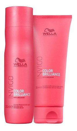 Wella Shampoo Invigo Color Brilliance 250ml + Condic. 200ml
