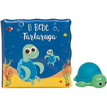 LIVRINHO DE BANHO - TARTARUGUINHA