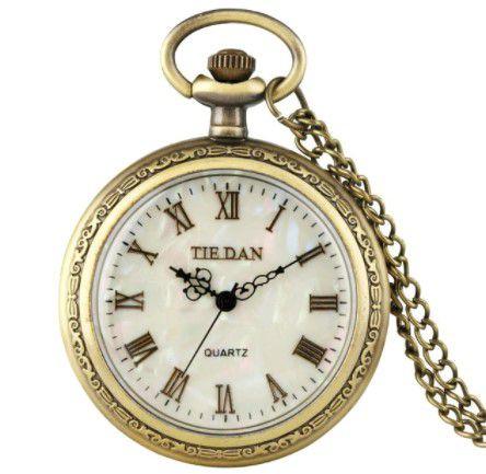 Relógio de Bolso Antigo a Corda