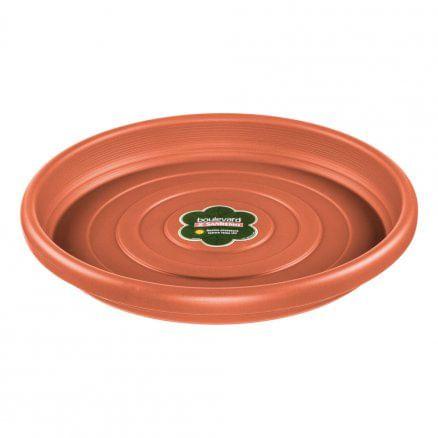 Prato para Vaso Redondo Plástico ø 28 cm Sanremo