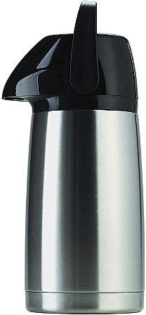 Garrafa Térmica Air Pot Inox Inquebrável 1 Litro - Invicta