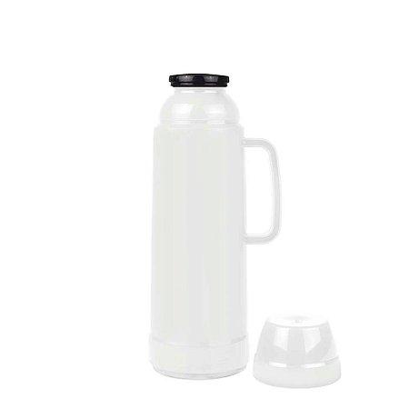 Garrafa Térmica 1 litro Use Branco Mor