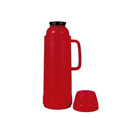 Garrafa Térmica 1 litro Use Daily Vermelha Mor