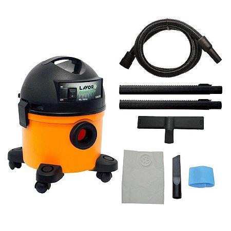 Aspirador de Pó e Líquido Portátil Compact 12 litros 1250W 110V Lavor