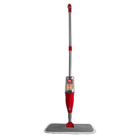 Vassoura Mop Microfibra com Reservatório Spray Limpeza Rápida Wap