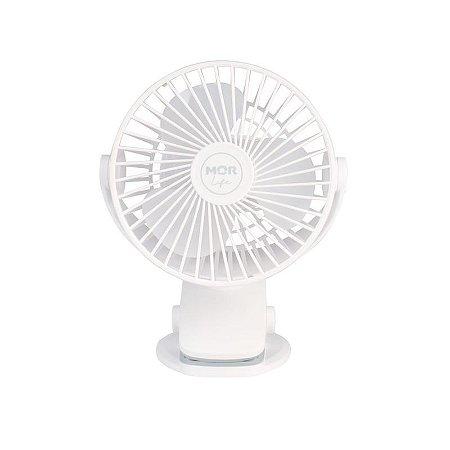 Mini Ventilador Portátil Recarregável Mor