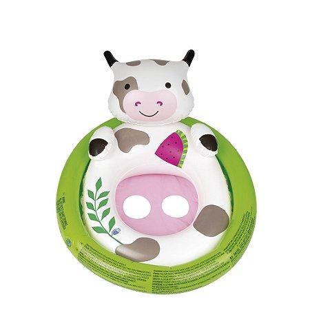 Boia Bebê com Fralda Bichinhos Vaca Mor