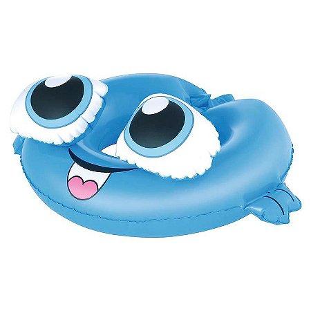Boia Redonda Infantil Bichinhos Cervo Azul Mor