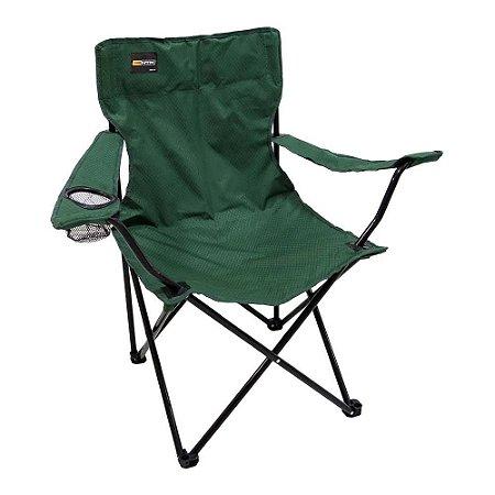 Cadeira Camping Dobrável Alvorada Verde - Nautika