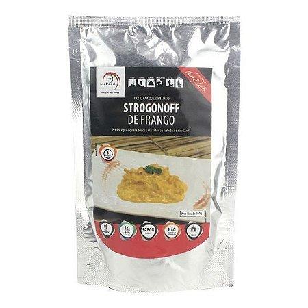Comida Liofilizada Strogonoff de Frango 2 pessoas LioFoods