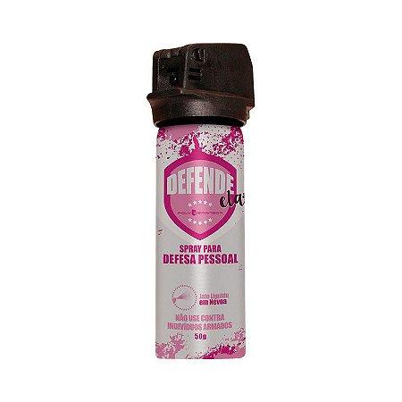Spray Para Defesa Pessoal Defende Ela - Polydefensor