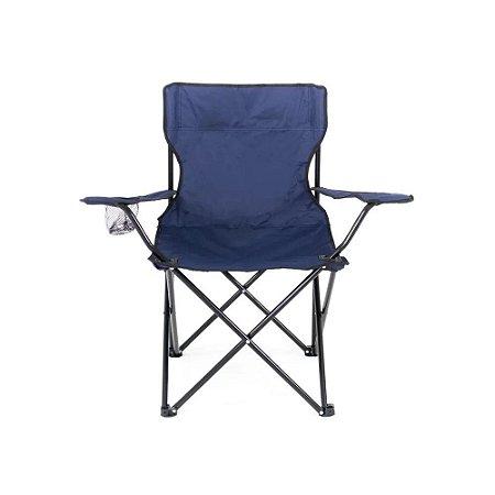Cadeira Dobrável Araguaia Azul para Camping Belfix