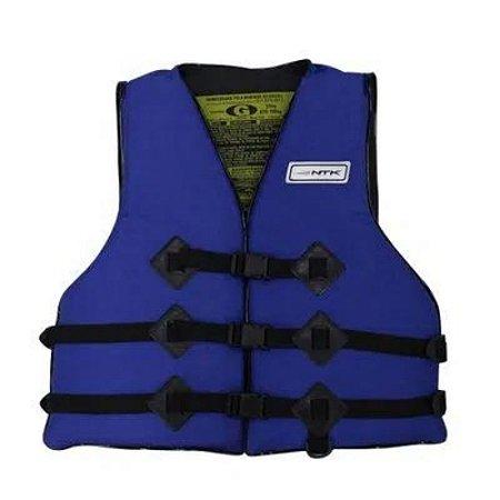 Colete Salva Vidas Homologado 110 kg Azul Nautika