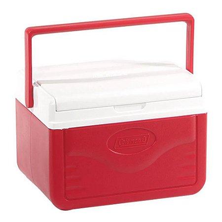 Caixa Térmica 4,7 litros Vermelha 5QT Coleman