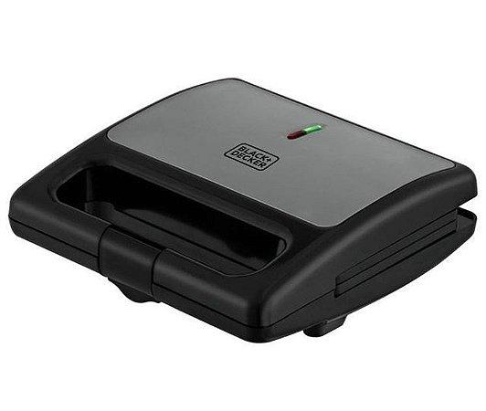 Sanduicheira Elétrica 750w Sm750 127v Black+Decker