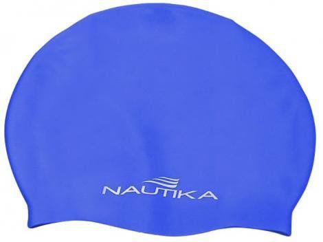 Touca de Natação em Silicone Azul Junior Nautika
