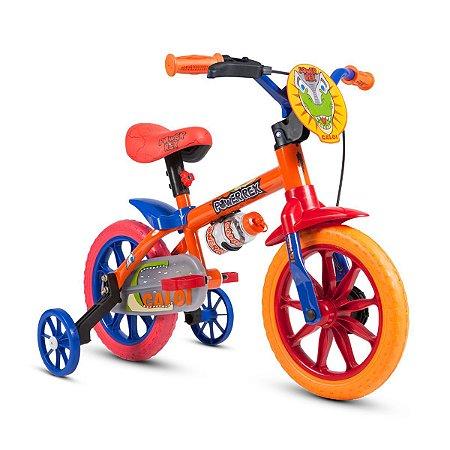 "Bicicleta Infantil Aro 12"" Power Rex Nathor"