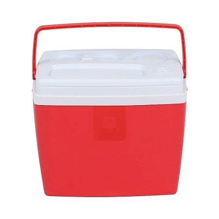 Caixa Térmica 18 litros Vermelha Belfix