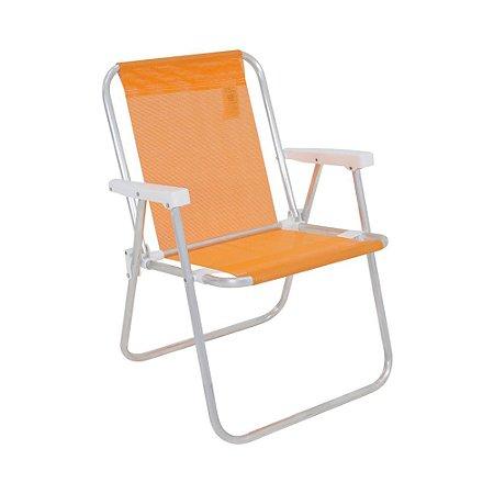 Cadeira de Praia Alumínio Reforçada até 110kg Alta Lazy Belfix