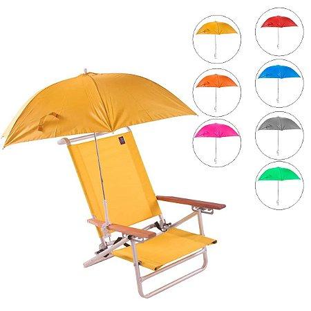 Guarda Sol Clamp para Cadeira de Praia Colorido Belfix