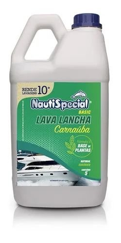 Lava Lancha e protetor 5L com Cera De Carnauba Nautispecial