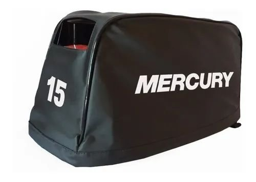 Capa para Capô Motor de Popa Mercury 15 Hp Super (japonês)