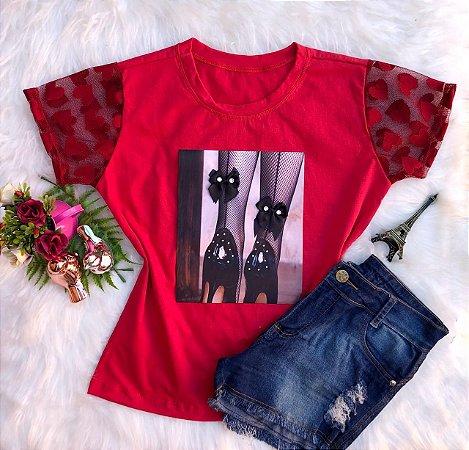 T-Shirt Sapato