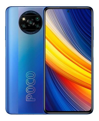Xiaomi Pocophone Poco X3 Pro Dual Sim 128 Gb Frost Blue 6 Gb Ram