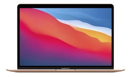 Apple Macbook Air (13 Polegadas, 2020, Chip M1, 512 Gb De Ssd, 8 Gb De Ram) - Dourado