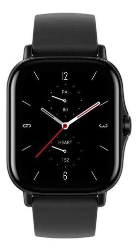 Smartwatch Amazfit Fashion Gts 2 1.65  Caixa De  Liga De Alumínio Pulseira  Midnight Black De  Silicone A1969