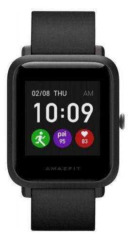 Smartwatch Amazfit Basic Bip S Lite 1.28  Caixa De  Policarbonato  Charcoal Black Pulseira  Charcoal Black De  Tpu A1823