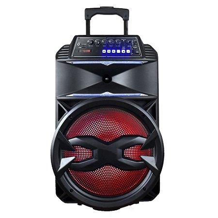 "CAIXA AMPLIFICADA 12"" TRONOS TRS-210-02 290W BT/USB/MICRO-SD/FM/RGB BOX   I"
