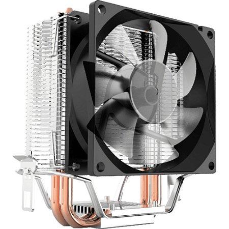 COOLER BRAZILPC CL2800 GAMER C/ COBRE E LED P/ INTEL E AMD (1156/1155/1150/1151/AM2/AM3/AM4)