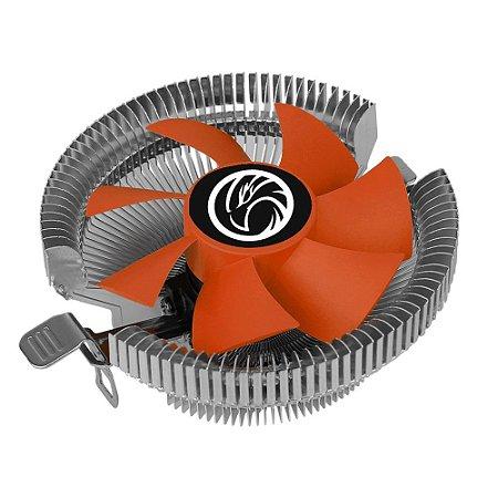 COOLER BRAZILPC ICE165W P/ INTEL E AMD (775/1156/1155/1150/1151/AM2/AM3/AM4/FM1/FM2)