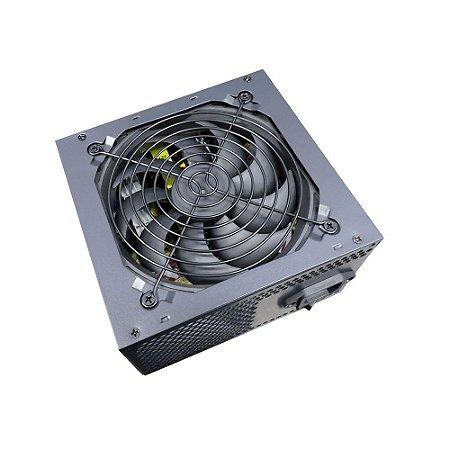 FONTE ATX 500W REAL APFC  BRAZILPC BPC/500PFCA 24 PINOS BOX