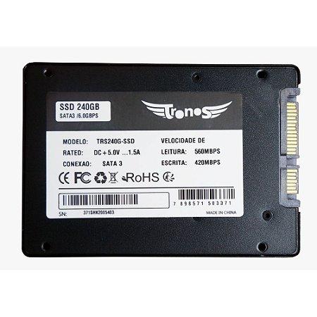 HD SSD SATA3 240GB TN240G-SSD 2.5 3D NAND TLC - SMI 2258XT OEM