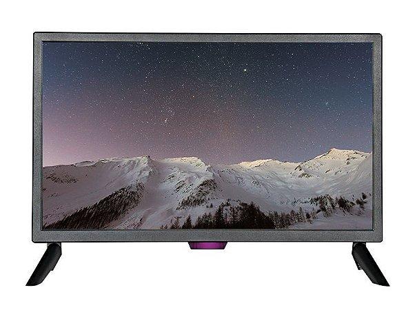 MONITOR TV LED 24 BRAZILPC H240-T HOE PRETO (1XHDMI/1XVGA/1XAV/1XPC AUDIO/1XFONE/1XUSB)