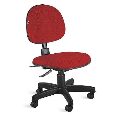 Cadeira Executiva Back System Tecido Vermelho