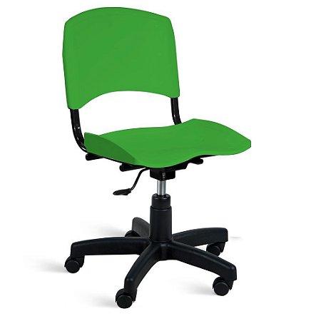 Cadeira Plástica Giratória A/E Verde Lara