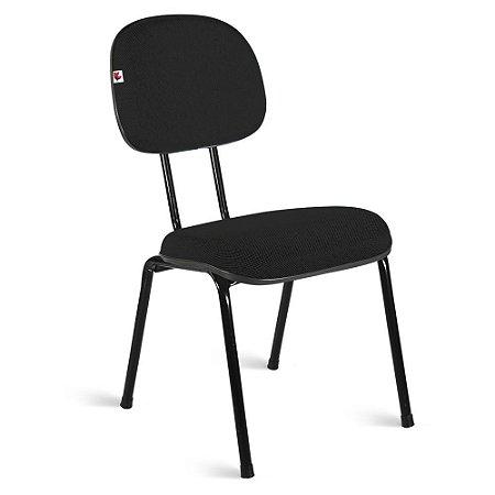 Cadeira Secretária Pé Palito Preto