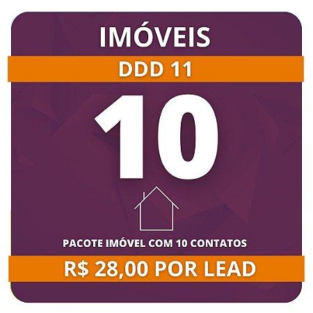 10 Leads de Consórcio de Imóvel