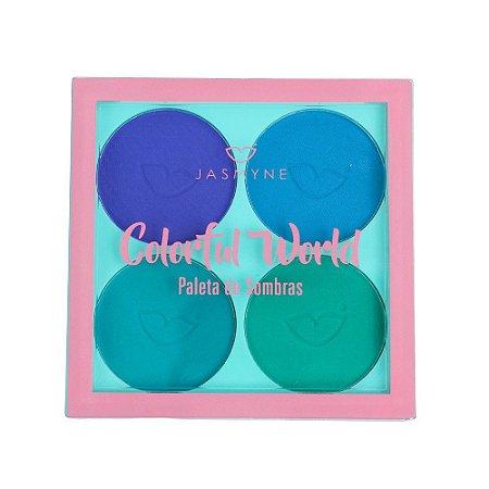 Paleta de Sombras Colorful World Jasmyne B