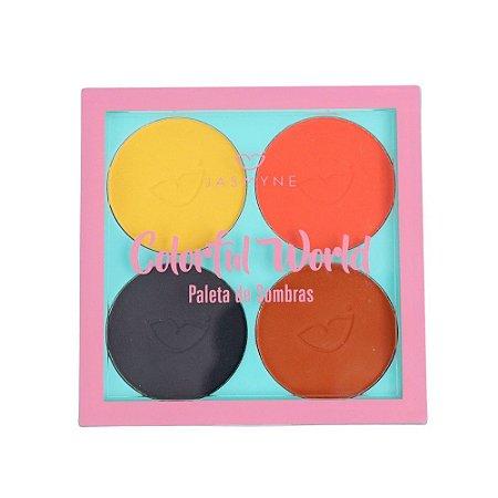 Paleta de Sombras Colorful World Jasmyne A