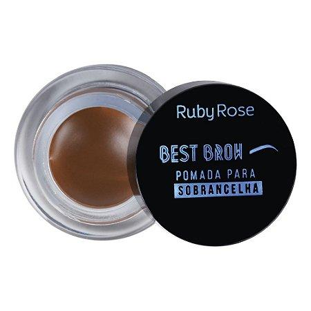 Pasta para Sobrancelhas Ruby Rose Best Brow -Ligth
