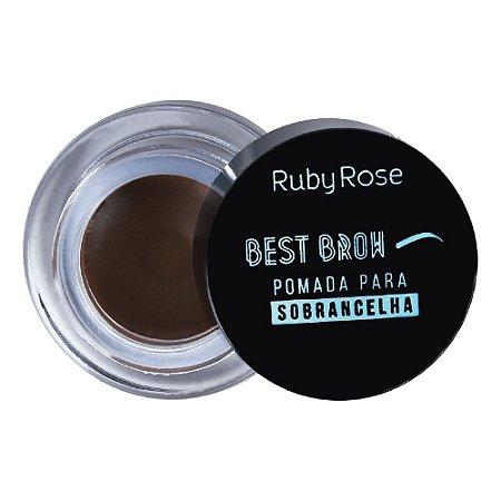 Pasta para Sobrancelhas Ruby Rose Best Brow -Medium