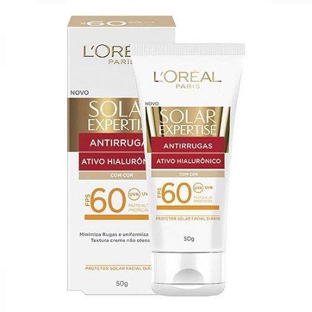 Protetor Solar Loréal Expertise Antirrugas Fps60 50g
