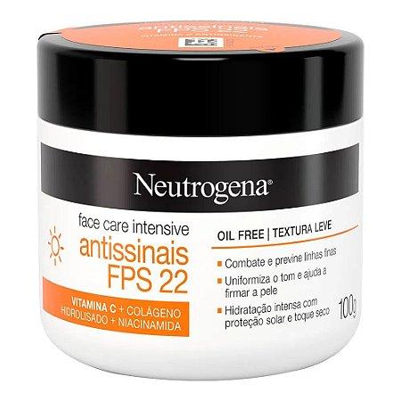 Neutrogena Face Care 100gr Fps22 Antissinais