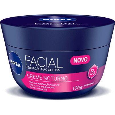 Creme Facial Anti-idade Nivea Noturno 100g