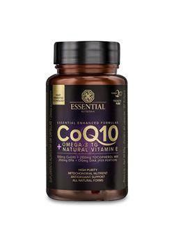 COQ10 60 cápsulas | 30 doses - Coenzima Q10 + Ômega-3 TG + Natural Vitamin E